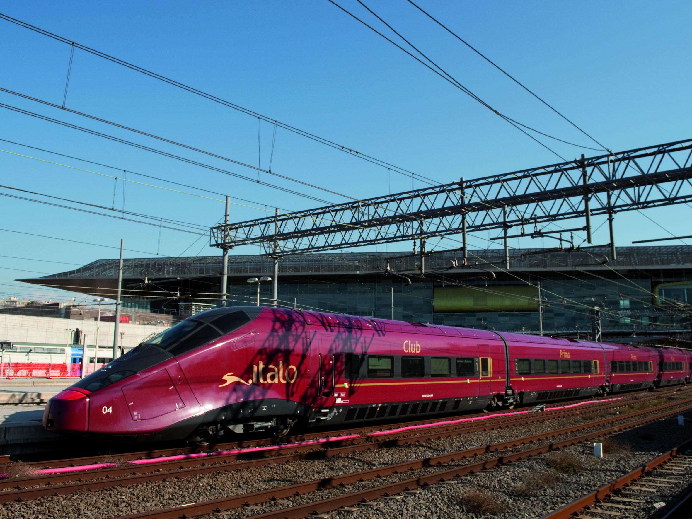 Finalmente parte italo treno gsa master news - Binario italo porta garibaldi ...